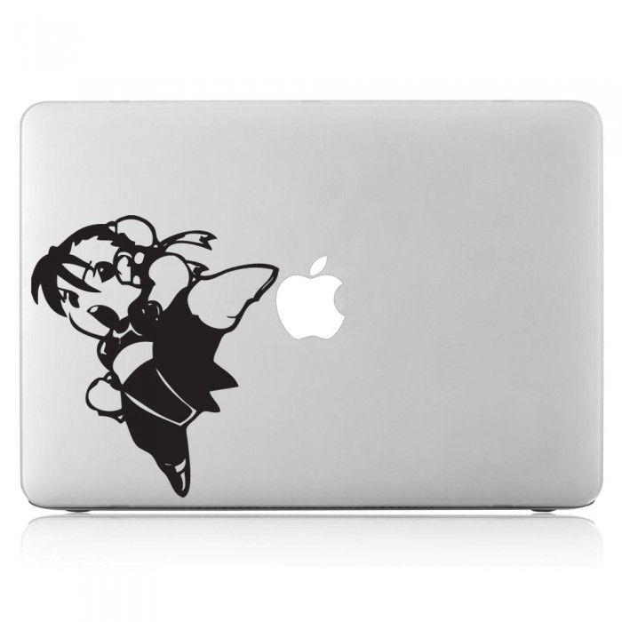 Street Fighter Chun Li Laptop / Macbook Vinyl Decal Sticker (DM-0003)