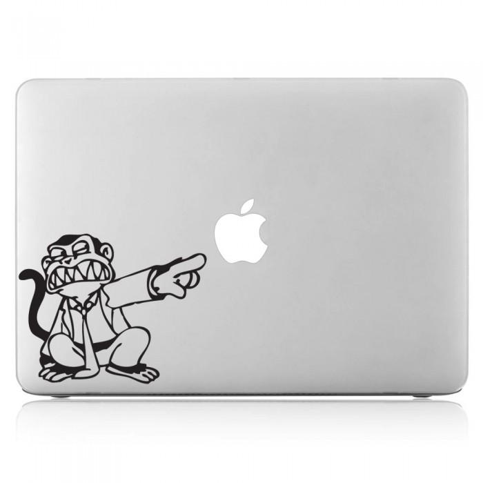 Monkey Laptop / Macbook Vinyl Decal Sticker (DM-0005)