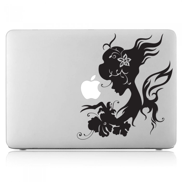 Fairy Girl Laptop / Macbook Vinyl Decal Sticker (DM-0007)