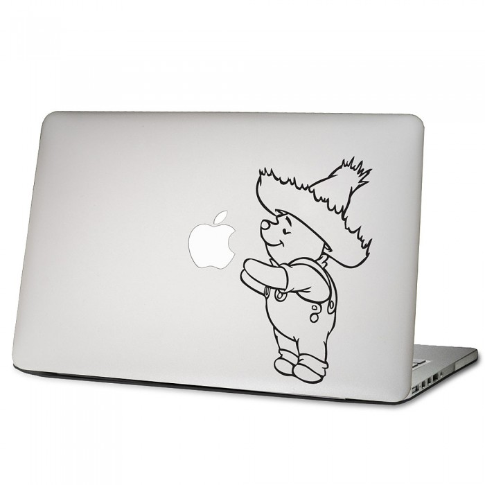 Winnie Puuh Laptop / Macbook Sticker Aufkleber (DM-0010)