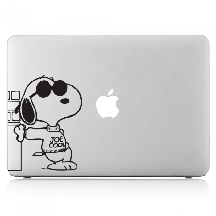 Snoopy with Sunglasses Laptop / Macbook Vinyl Decal Sticker (DM-0027)