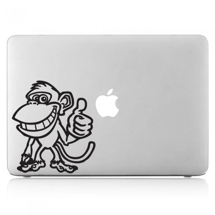 Monkey Laptop / Macbook Vinyl Decal Sticker (DM-0045)