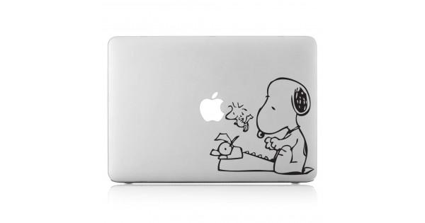 Snoopy Typewriter Laptop Macbook Vinyl Decal Sticker Dm 0063