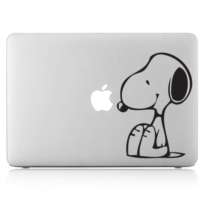 Snoopy Dog peanut  Laptop / Macbook Vinyl Decal Sticker (DM-0064)