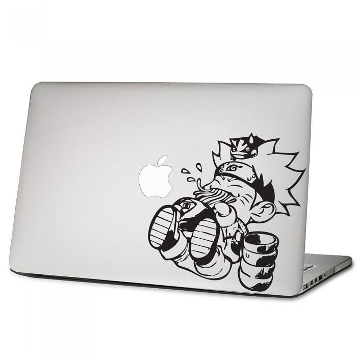 Chibi Naruto Laptop Macbook Vinyl Decal Sticker