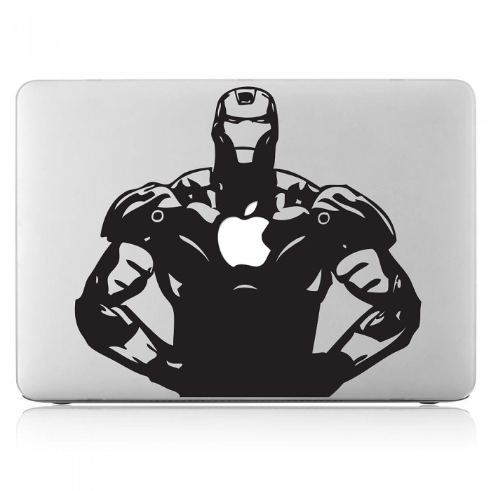 Iron Man Laptop / Macbook Vinyl Decal Sticker (DM-0113)