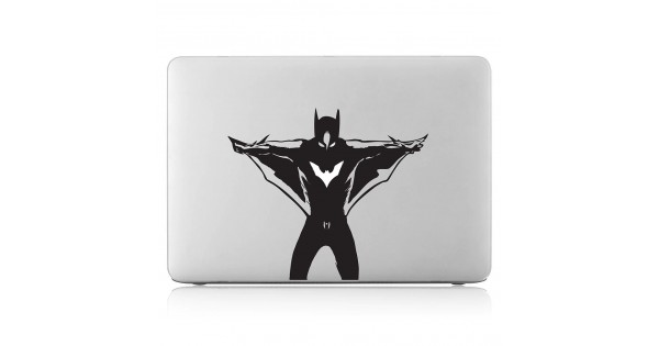 Batman anime laptop macbook vinyl decal sticker