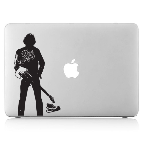 Bruce Springsteen Born to Run Laptop / Macbook Vinyl Decal Sticker