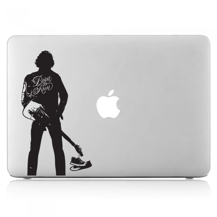 Bruce Springsteen Born to Run Laptop / Macbook Vinyl Decal Sticker (DM-0127)