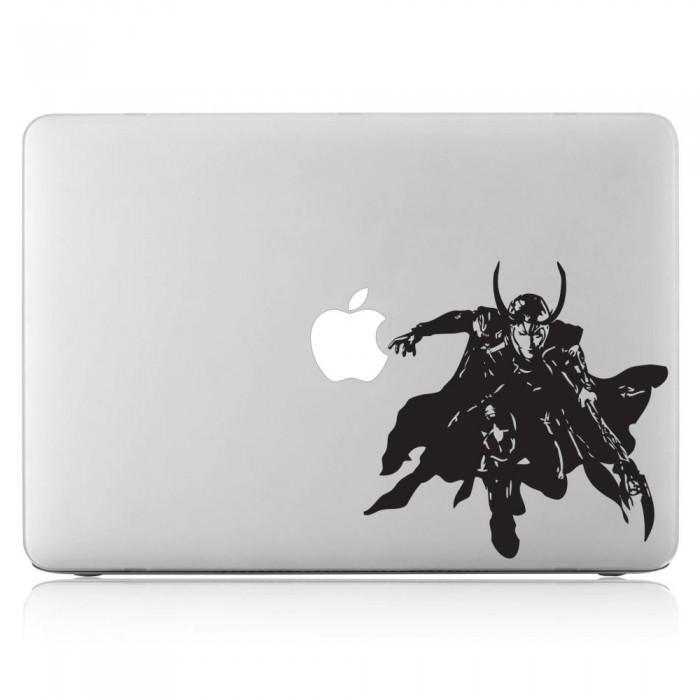 Loki The God of Mischief Laptop / Macbook Vinyl Decal Sticker (DM-0129)