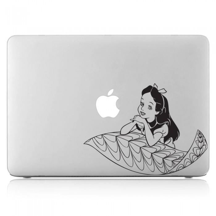 Alice's Adventures in Wonderland Laptop / Macbook Vinyl Decal Sticker (DM-0130)