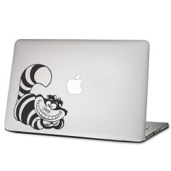 Cheshire Cat in Alice Wonderland Laptop / Macbook Vinyl Decal Sticker
