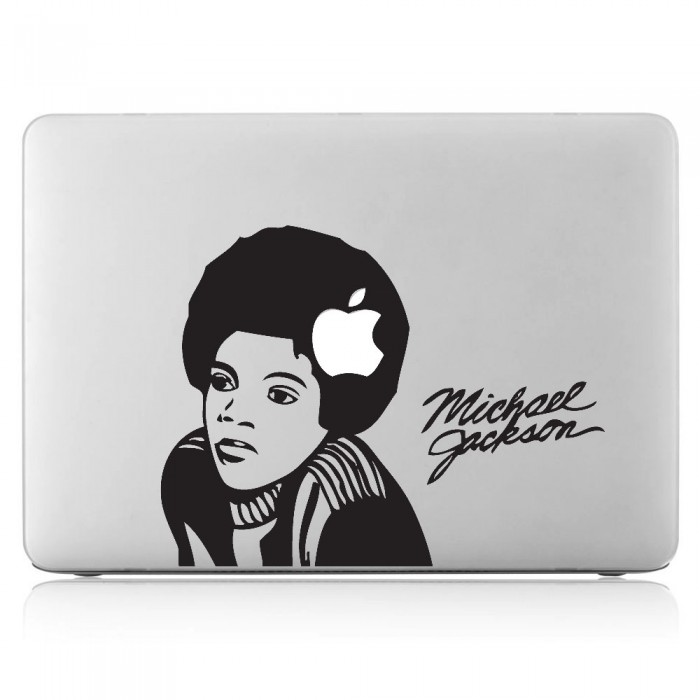 Young Michael Jackson Laptop / Macbook Vinyl Decal Sticker (DM-0133)