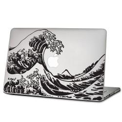 The Great Wave off Kanagawa Hokusai Laptop / Macbook Vinyl Decal Sticker