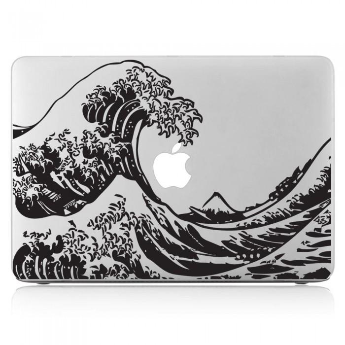 The great wave off kanagawa hokusai laptop macbook vinyl decal sticker