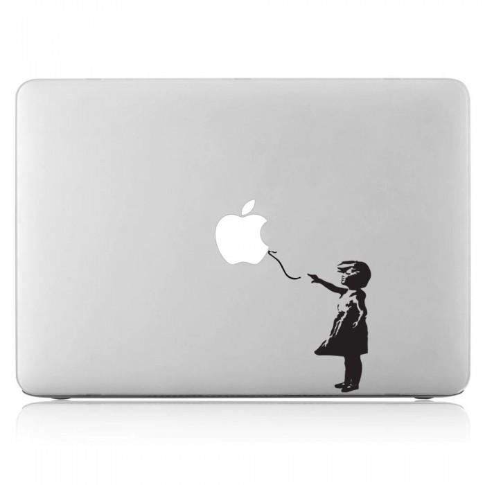 Banksy Balloon Girl Laptop / Macbook Vinyl Decal Sticker (DM-0139)