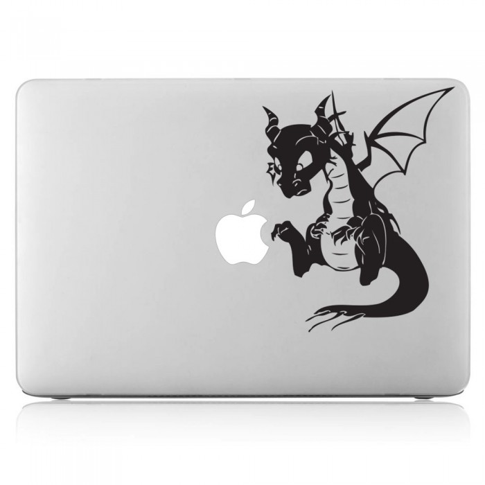 drache malefiz laptop macbook sticker aufkleber. Black Bedroom Furniture Sets. Home Design Ideas