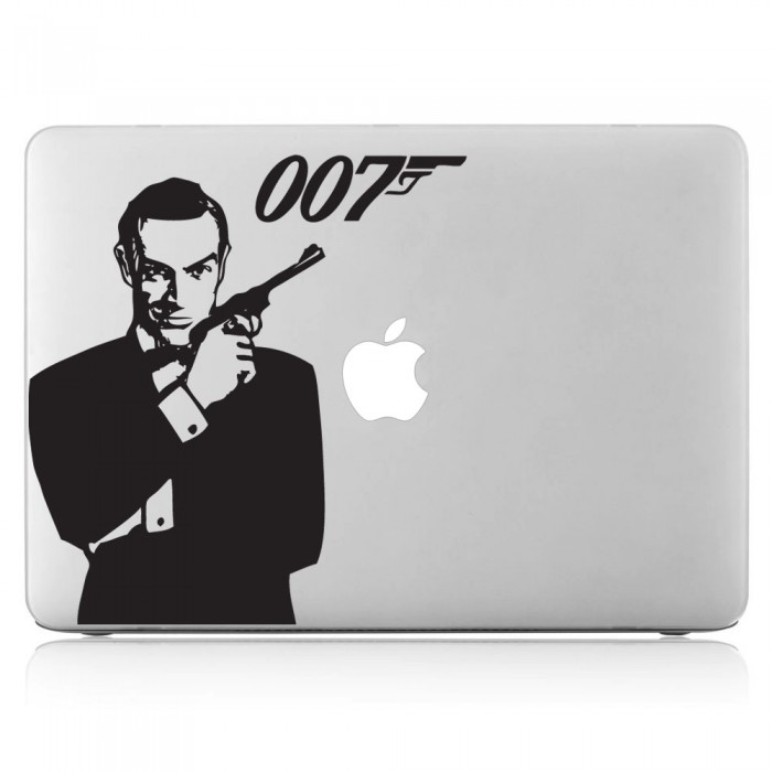 James Bond 007 Laptop / Macbook Vinyl Decal Sticker (DM-0184)