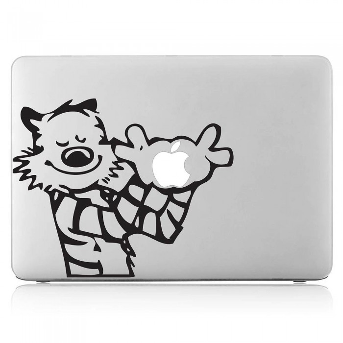 Calvin and Hobbes Laptop / Macbook Vinyl Decal Sticker (DM-0186)
