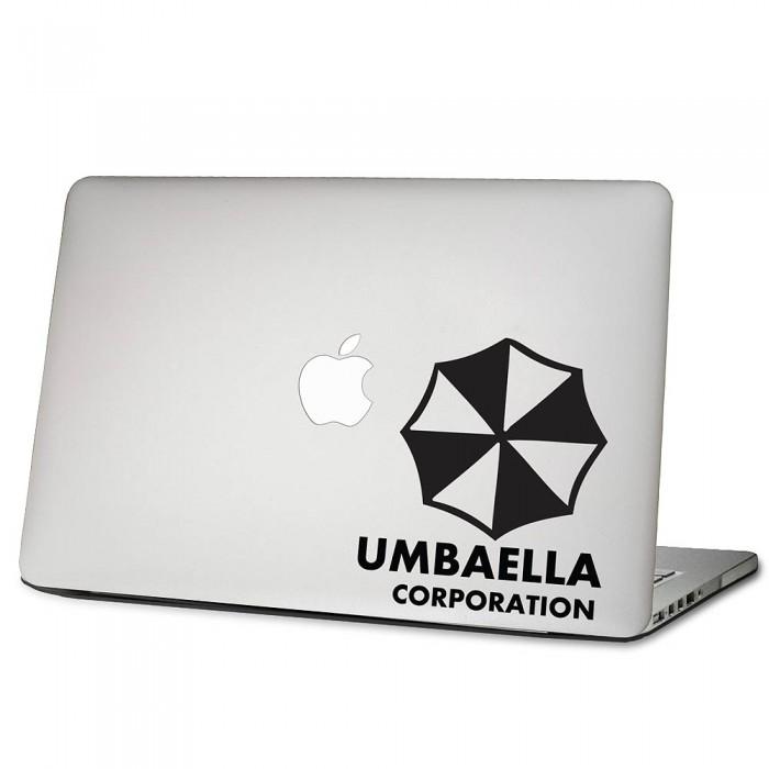 Residen Evil Umbrella Corporation Laptop Macbook Vinyl