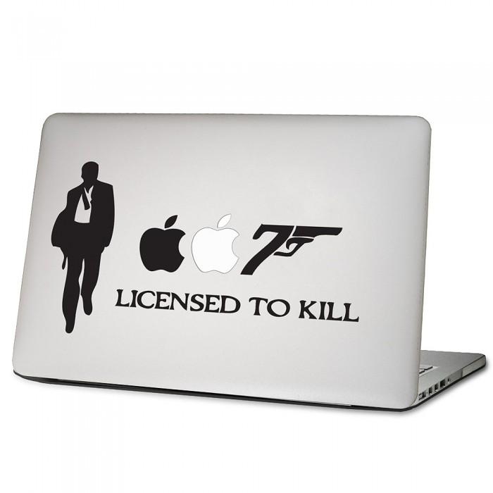 007 Sticker Decal Die Cut James Bond 2