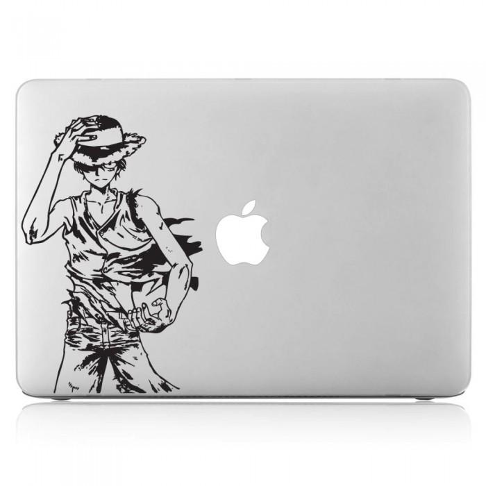 One Piece Monkey D.Luffy  Laptop / Macbook Vinyl Decal Sticker (DM-0206)