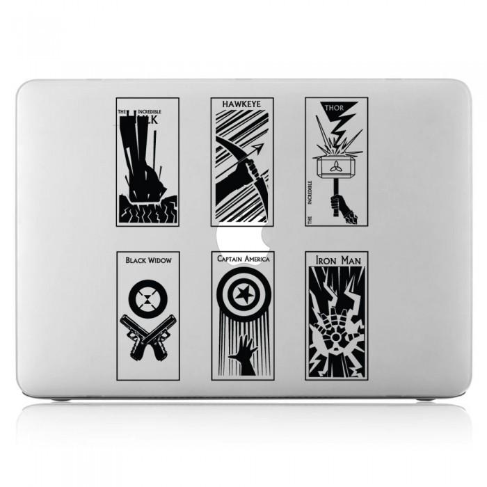 The Avengers Laptop / Macbook Vinyl Decal Sticker (DM-0225)
