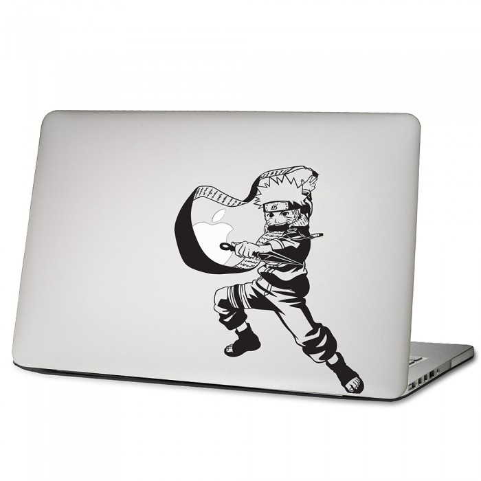 naruto uzumaki laptop macbook sticker aufkleber. Black Bedroom Furniture Sets. Home Design Ideas
