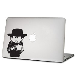 A Fistful of Dollar Cowboy Clint Eastwood Laptop / Macbook Vinyl Decal Sticker