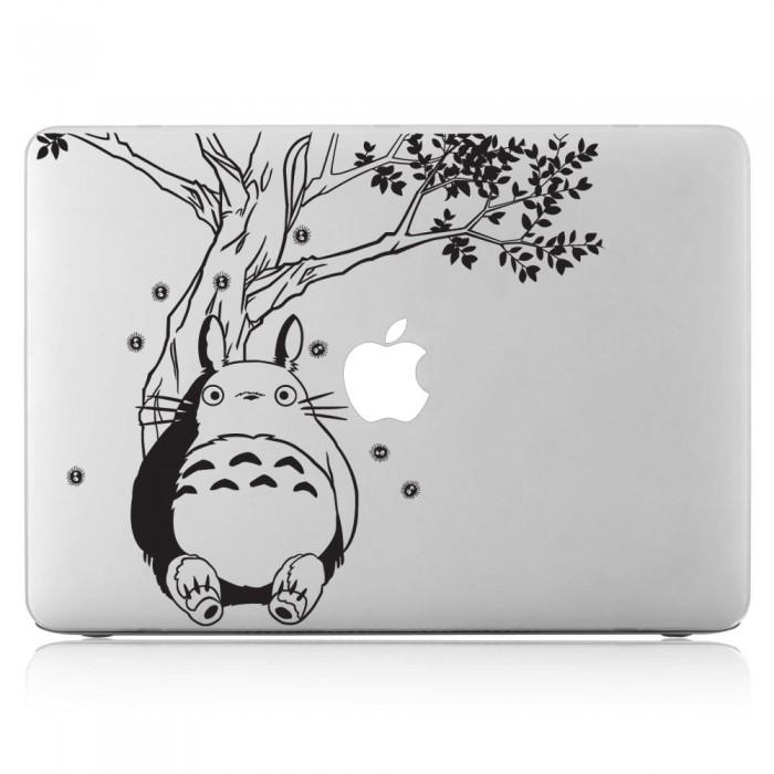 Totoro under the Tree Laptop / Macbook Vinyl Decal Sticker (DM-0245)