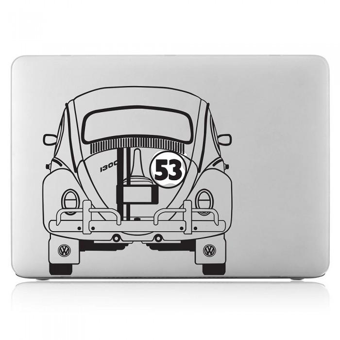 Herbie Vw Käfer Beatle Auto Laptop Macbook Sticker Aufkleber Dm 0255