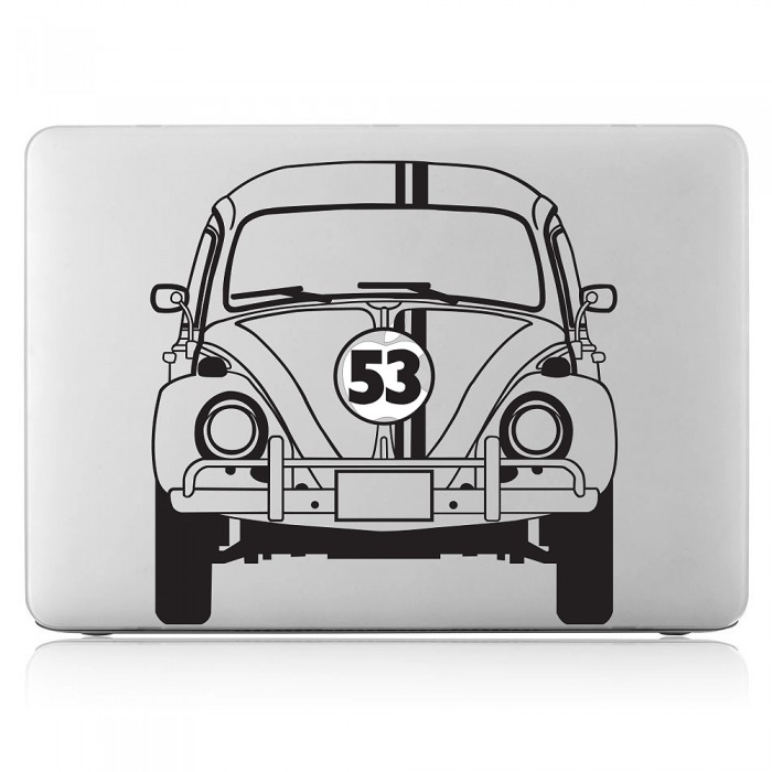 Herbie 53 vw the beetle laptop macbook vinyl decal sticker