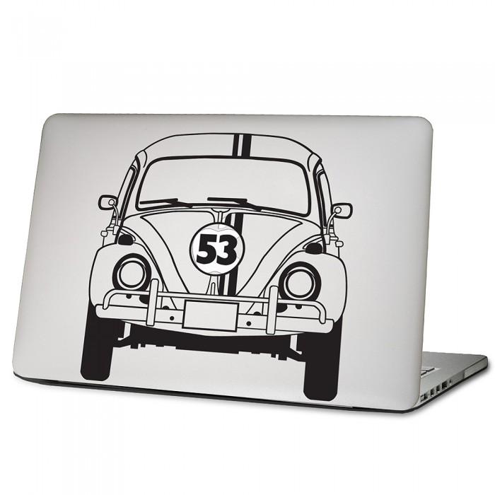 Herbie Vw Käfer Beatle Auto Laptop Macbook Sticker Aufkleber Dm 0256