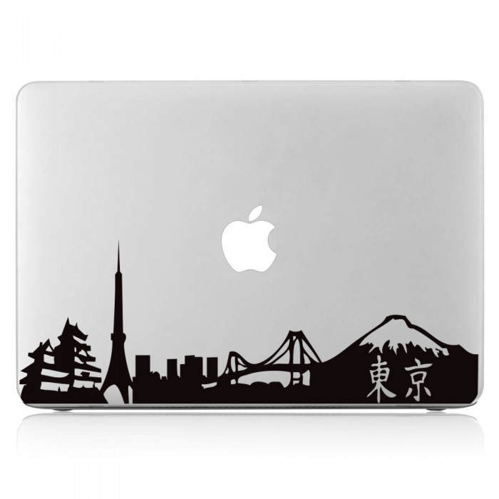 Tokyo Skyline Laptop / Macbook Vinyl Decal Sticker (DM-0267)