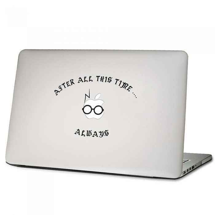 Potter After All This Time Always Laptop Macbook Vinyl Decal - Vinyl decals for macbook