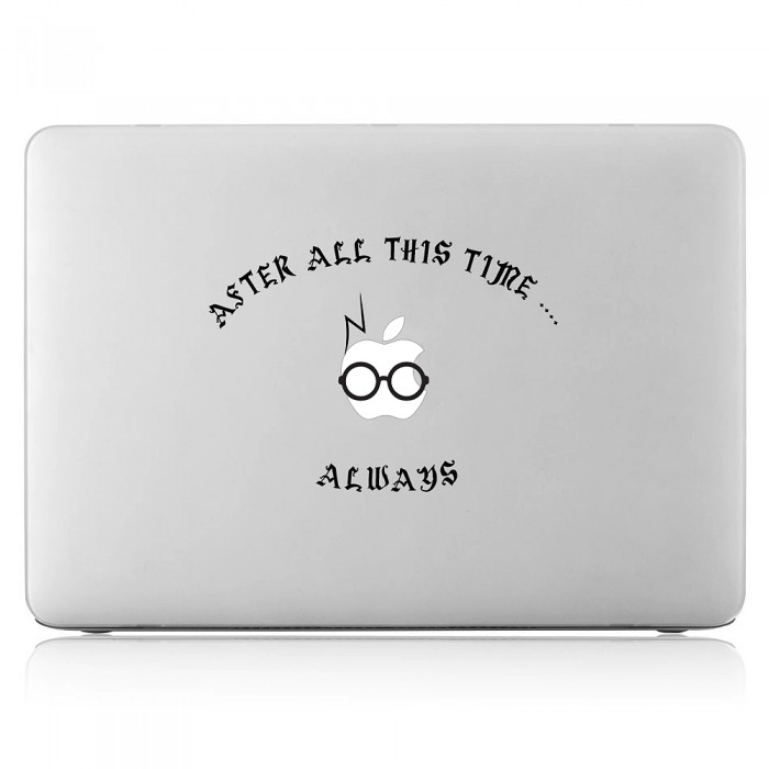 Harry Potter After all this time , Always Laptop / Macbook Vinyl Decal Sticker (DM-0273)