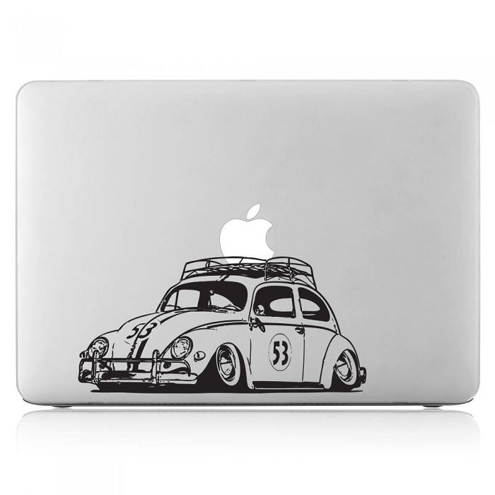 Herbie vw beetle laptop macbook vinyl decal sticker