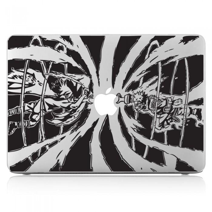 Naruto vs sasuke shippuuden laptop macbook vinyl decal sticker