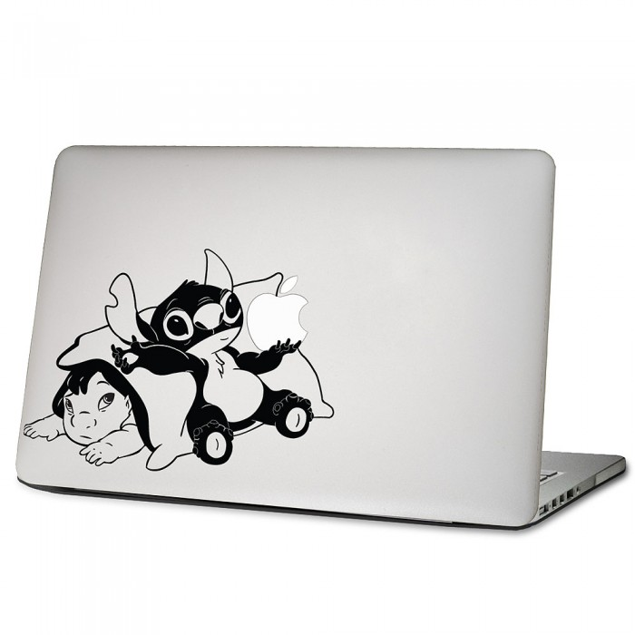 baby lilo and stitch laptop macbook sticker aufkleber. Black Bedroom Furniture Sets. Home Design Ideas