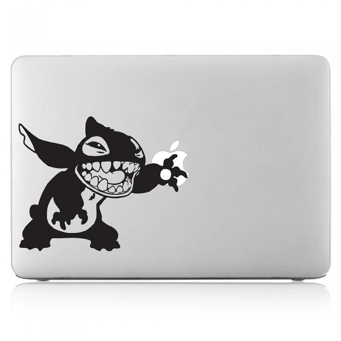 Stitch touch Laptop / Macbook Vinyl Decal Sticker (DM-0300)