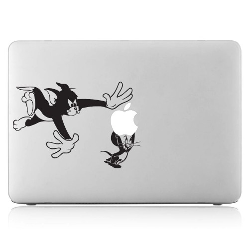 Tom and Jerry Laptop / Macbook Vinyl Decal Sticker