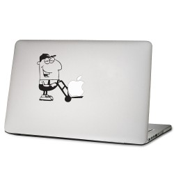 Apple Delivery Service Laptop / Macbook Vinyl Decal Sticker