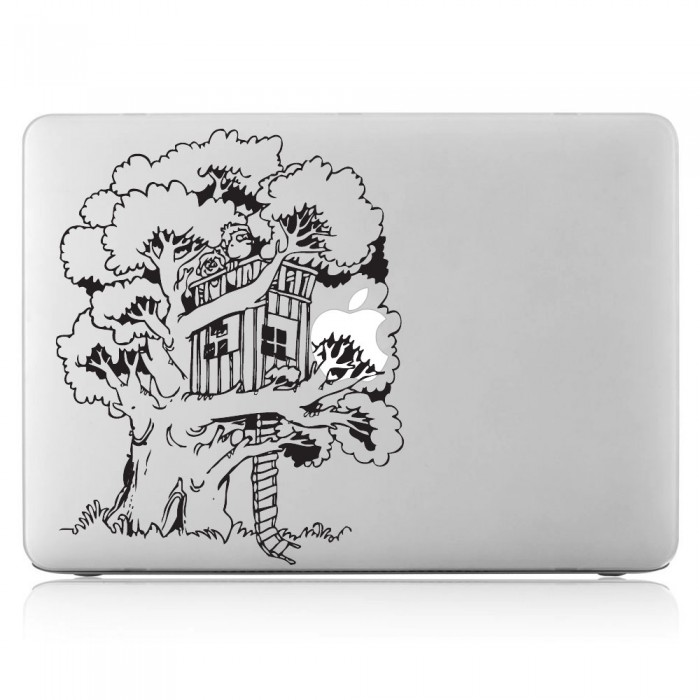 Tree House Laptop / Macbook Vinyl Decal Sticker (DM-0333)