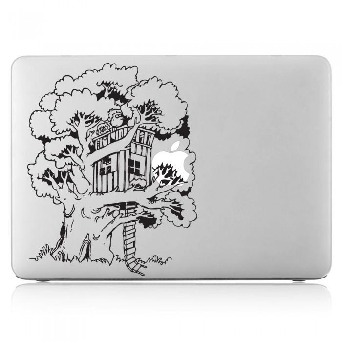 Tree House Laptop Macbook Vinyl Decal Sticker Dm 0333