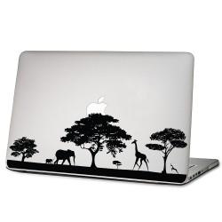 Safari Africa Wildlife Laptop / Macbook Vinyl Decal Sticker