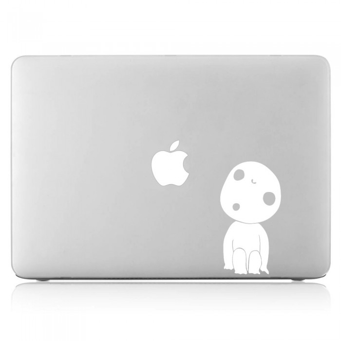 Kodama Princess Mononoke Laptop / Macbook Vinyl Decal Sticker (DM-0353)