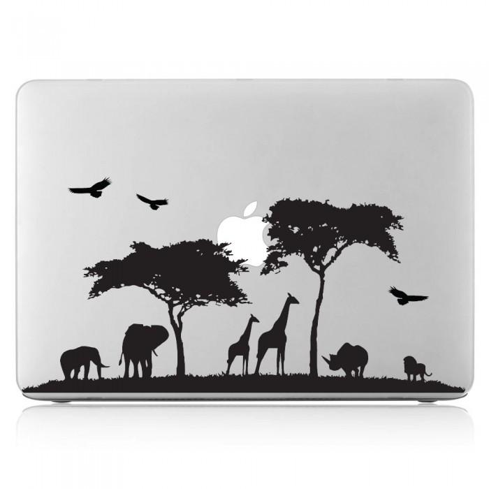 Safari Africa Wildlife 2 Laptop / Macbook Vinyl Decal Sticker (DM-0360)