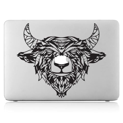 Black Yak Laptop / Macbook Vinyl Decal Sticker