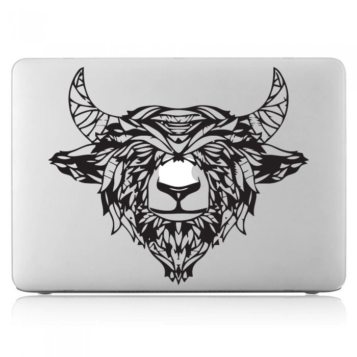 Black Yak Laptop / Macbook Vinyl Decal Sticker (DM-0363)