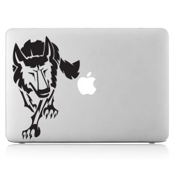 Wolf Tattoo 2 Laptop / Macbook Vinyl Decal Sticker